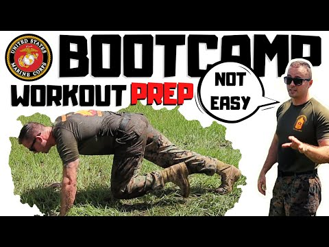 USMC Boot Camp Prep Challenge Workout | Michael Eckert