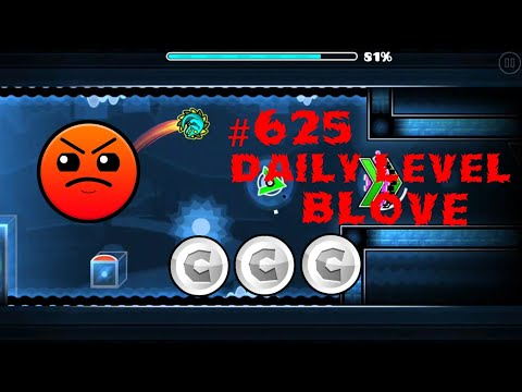 DAILY LEVEL #625 Geometry Dash 2.11 el nivel BLOVE