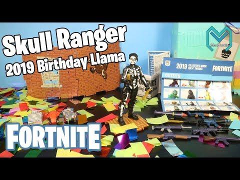Skull Ranger 2019 Birthday Llama Loot Pinata Fortnite Jazwares