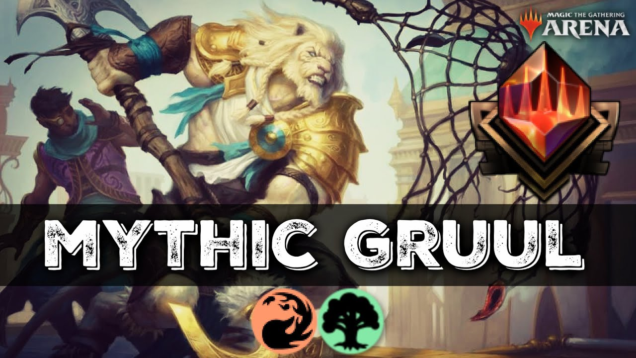 The GRUULING GRIND to Mythic (Bo1 & Bo3) | MTG Arena M21 Standard Deck