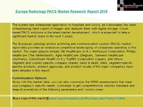 Europe Radiology PACS Market Research Report 2018