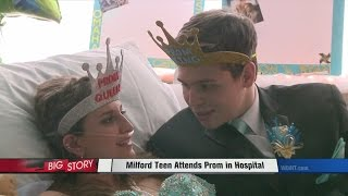 Milford Teen Attends Prom in Hospital