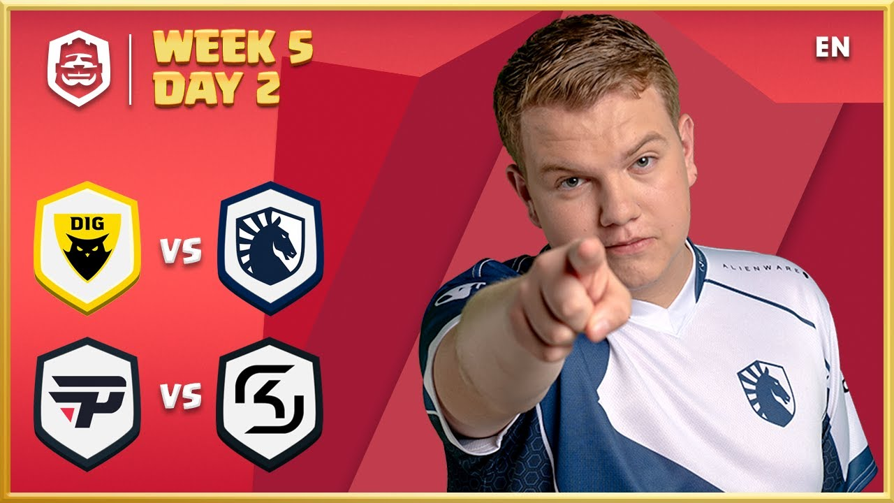 Clash Royale League: CRL West 2020 Spring | Week 5 Day 2! (English)