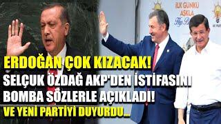 Selçuk Özdağ AKP'den istifasını bomba sözlerle açıkladı! Ve yeni partiyi duyurdu...