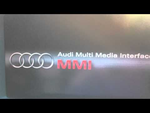 Restoring instrument cluster option MMI 2G