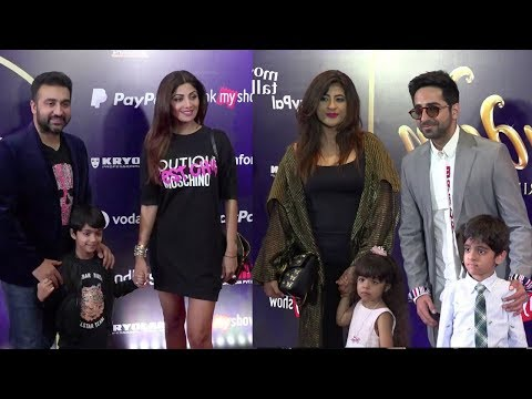 Bollywood Celebs At Premiere Of BookMyShow Broadway Style Production Disney's Aladdin