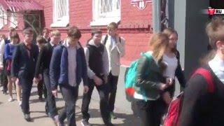 Школьники в гостях у полицейских