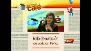 03.12.14 El primer café, Programa de análisis político del Canal Proyecto 40