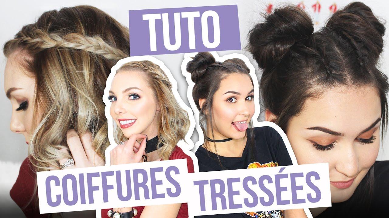 Tuto Coiffures Avec Des Tresses Concours Avec The Doll Beauty Et