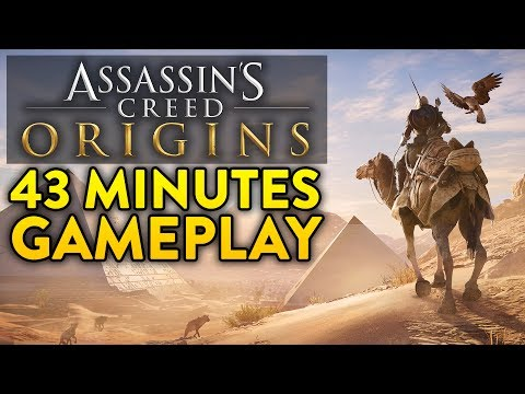 ASSASSINS CREED ORIGINS: 43 Minutes of Gameplay from E3 2017! (Exclusive Extended Demo)