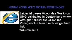 Gesperrte YouTube Videos anschauen: Internet Explorer (kostenlos) [German HD Tutorial]