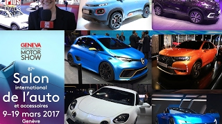 Journal TV du 07/03/2017 en direct du Salon de Genève 2017