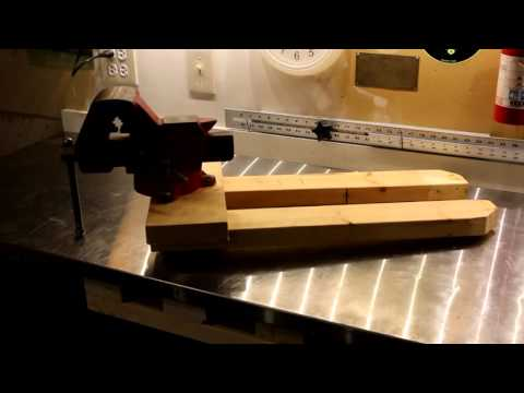 Removable Bench Vise Mount System