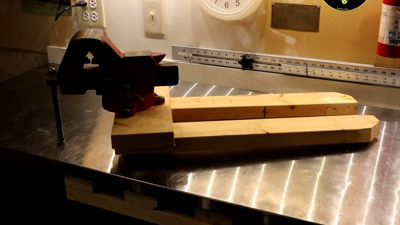 Removable Bench Vise Mount System - YouTube