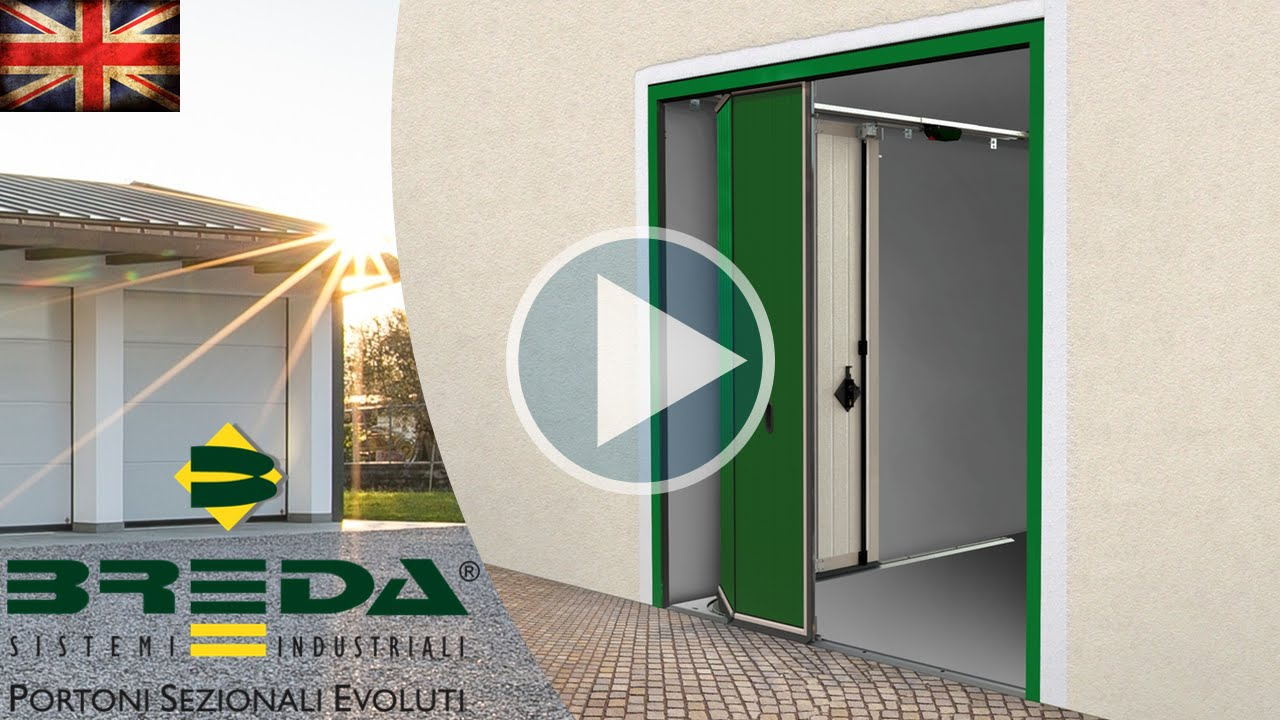 Phenix side sectional door by breda the sliding is the same but phenix side sectional door by breda the sliding is the same but horizontal youtube rubansaba