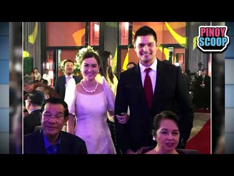 Marian Rivera And Dingdong Dantes Meet Cambodian Prime Minister - 동영상