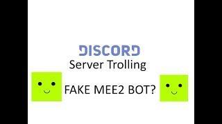 Discord bot trolling