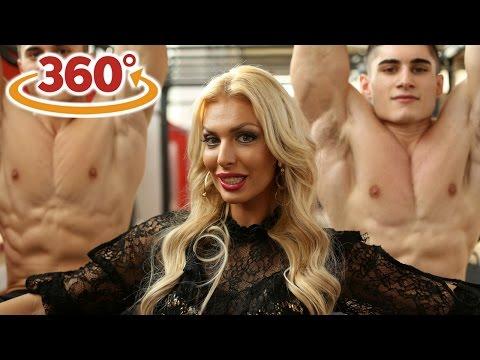 360° VIDEO l Seksi Ava prepustila se vježbanju s braćom Švec