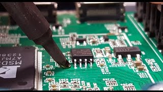 EEPROM Component Replacement Tutorial - How to solder and 8 pin eeprom component