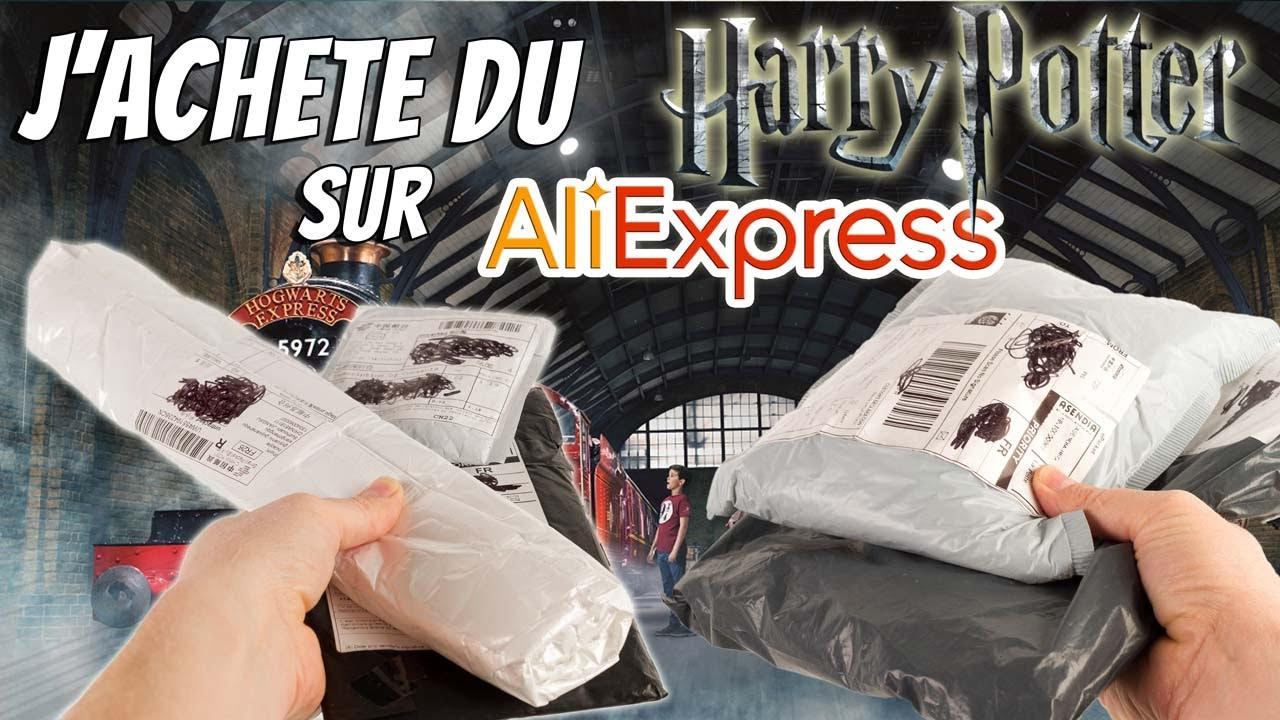 J'achète des produits Harry Potter sur Aliexpress Haul Shopping Super Héros et Compagnie