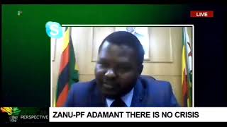 Zanu-PF supporter switched off by SABC while defending Mnangagwa