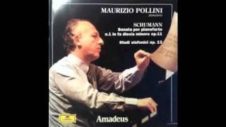 Schumann - Sonata n.1 op.11 (mvt.1 - Introduzione. Un poco Adagio. Allegro vivace) - M. Pollini