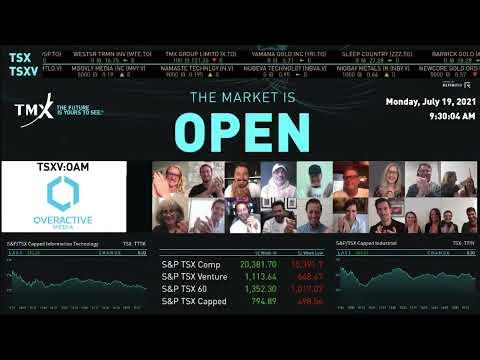 OverActive Media Virtually Opens the Market