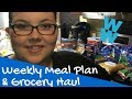 Weight Watcher Friendly Weekly Meal Plan & Grocery Haul