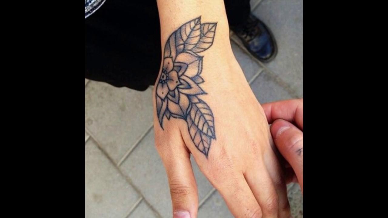 Tatuajes para Mujeres en la Mano YouTube