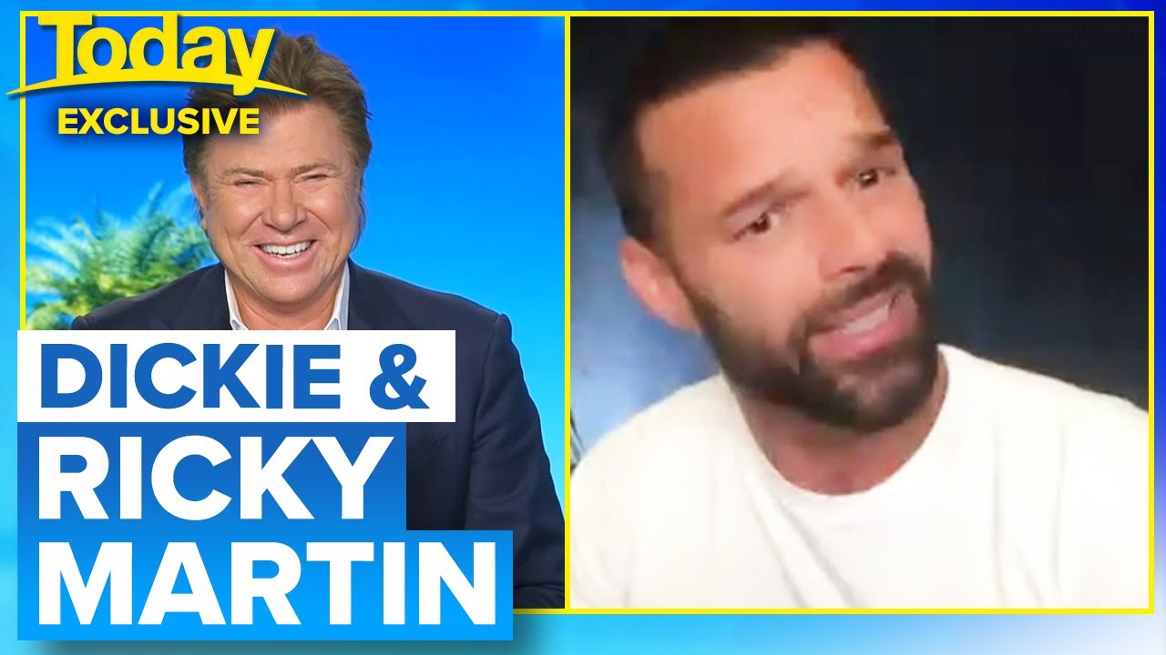 Exclusive: Ricky Martin on lockdown, family life and new music | Today Show Australia