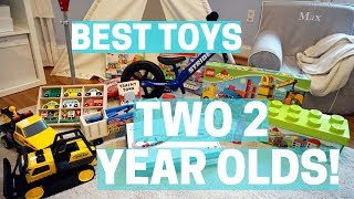 Best Toys For A Two Year Old! Gifts & Present Ideas For 2 Year Old - Birthday, Hanukkah, Christmas!