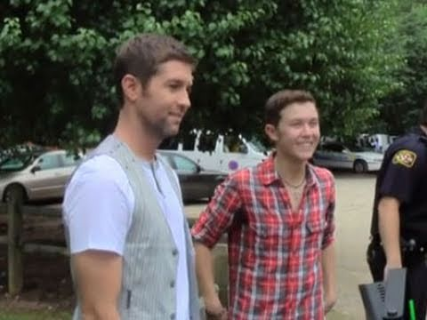 Josh Turner and Scotty McCreery Behind the Scenes Footage