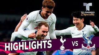 Tottenham vs. Crystal Palace: 2-0 Goals & Highlights | Premier League | Telemundo Deportes