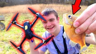 DRONE FISHING! *It Worked*