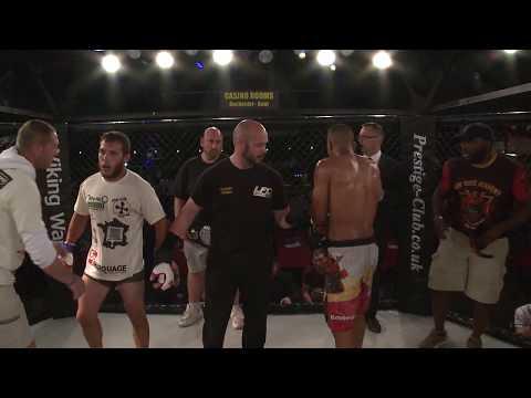 Lion Fighting Championships #LFC12 -Jonathan Sarradel VS Ashley Hamilton