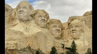 Trump jokes about being added to Mount Rushmore