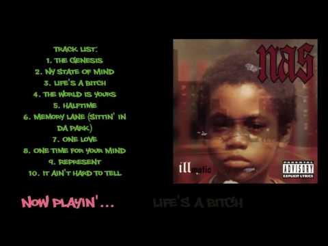 Nas - Illmatic (1994) - FULL ALBUM || HQ Audio ||