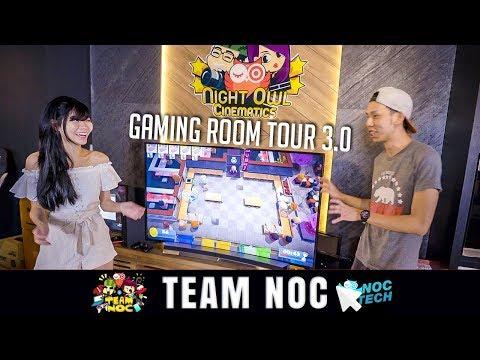 NOC TECH: Gaming Room Tour 3.0!