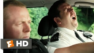 Hot Fuzz (3/10) Movie CLIP - The Shortest Police Chase (2007) HD