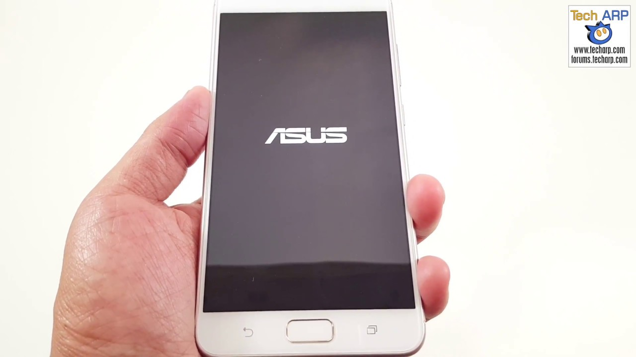 Setting Up The Asus Zenfone 4 Max Pro Zc554kl Smartphone Youtube
