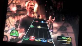 Guitar Hero Metallica PS3 Mercyful Fate Medley Part 2 of 2 Expert Fail 100% FC Guitar Playstation 3