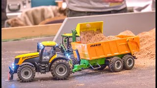 RC Farming! John Deere! Case! New Holland! 1/32 scale Tractors!