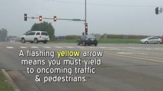 Flashing, Yellow Left-Turn Arrow Traffic Signals - Dubuque, Iowa