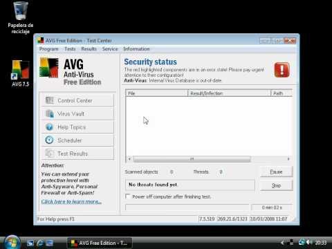 Como limpiar la PC con AVG Free