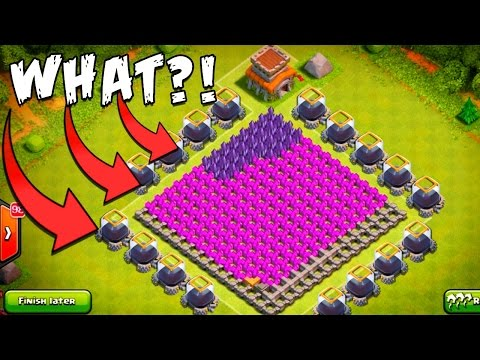 Clash of Clans | CRAZY Anti-Dark ELIXIR CUBE BASE! | Trolling TH8 Build+REPLAYS!
