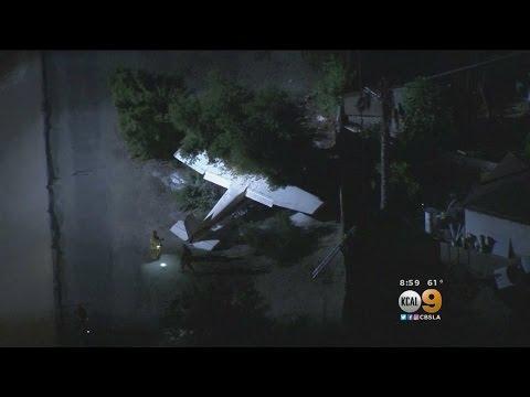 Small Plane Crashes In El Monte, 3 Hurt