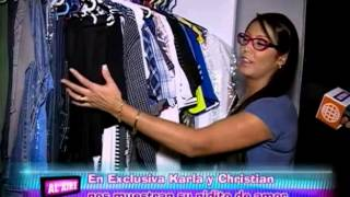 kARLA Y CHRISTIAN DOMINGUEZ MUESTRAN SU NIDO DE AMOR