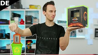 Vom TRASHRIPPER zum THREADRIPPER