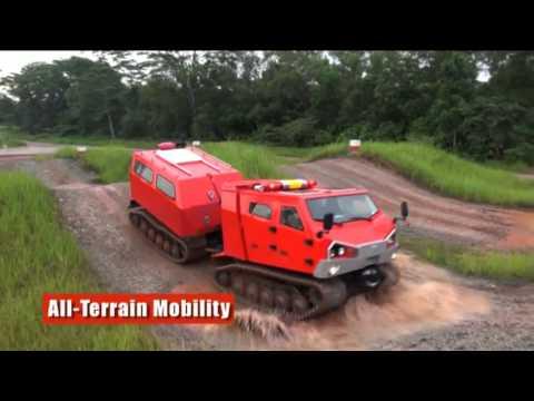 Singapore Technologies Kinetics - ExtremV Multi-Purpose Articulated Tracked Vehicle [480p]