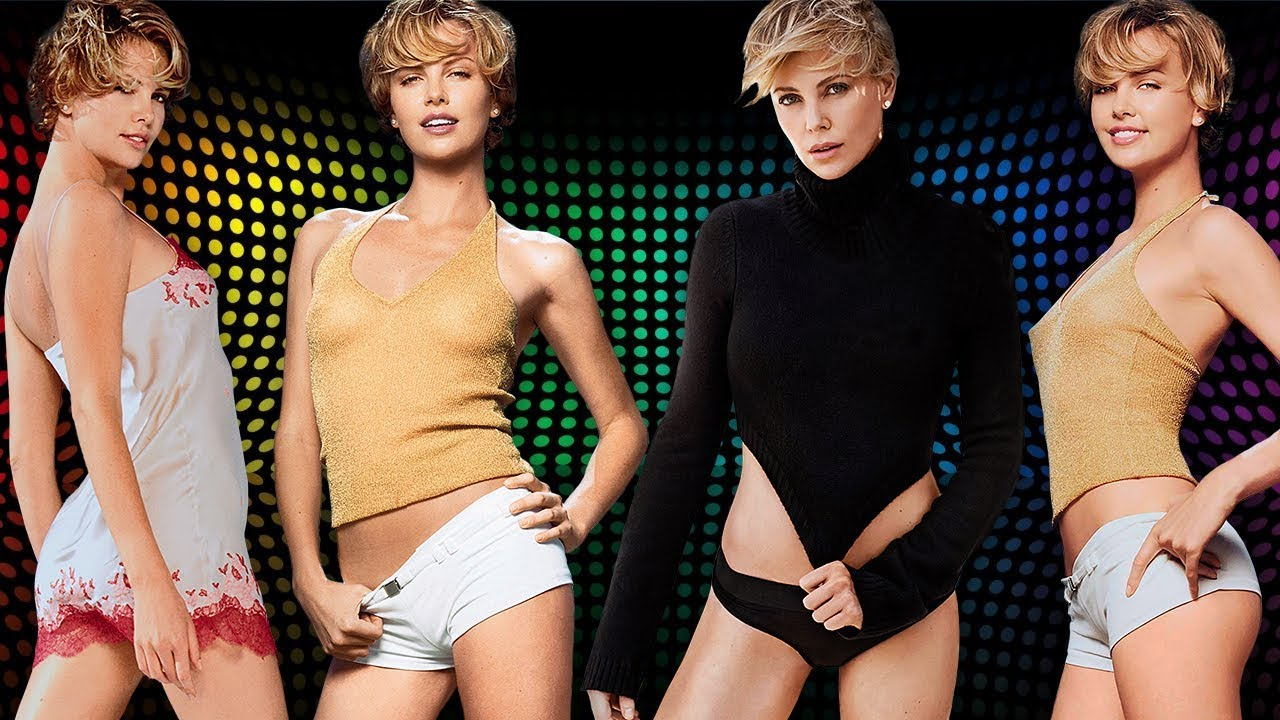 CHARLIZE THERON ⭐ Life From 1 To 43 Years Old